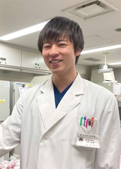 伊藤彰吾技師